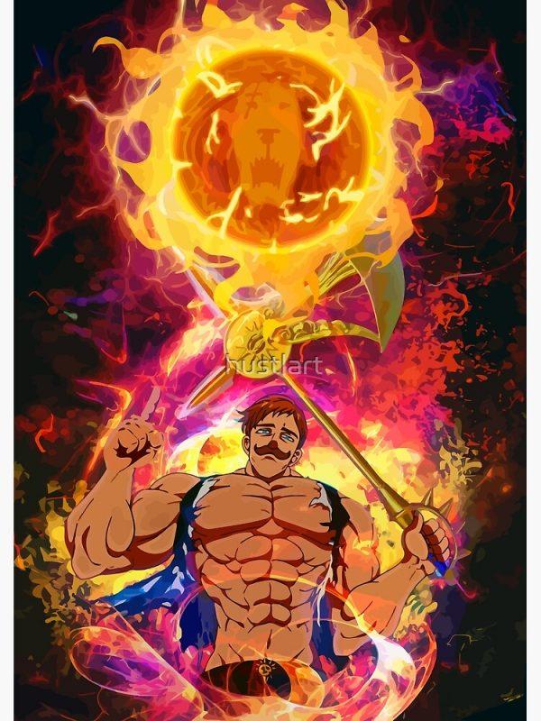 artwork Offical The Seven Deadly Sins Merch