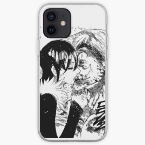 Merlin & Escanor - Last Kiss iPhone Soft Case RB1606 product Offical The Seven Deadly Sins Merch