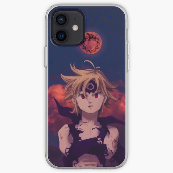 Meliodas - Seven Deadly Sins iPhone Soft Case RB1606 product Offical The Seven Deadly Sins Merch