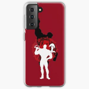 Escanor Seven Deadly Sins Minimalist Design  Samsung Galaxy Soft Case RB1606 product Offical The Seven Deadly Sins Merch