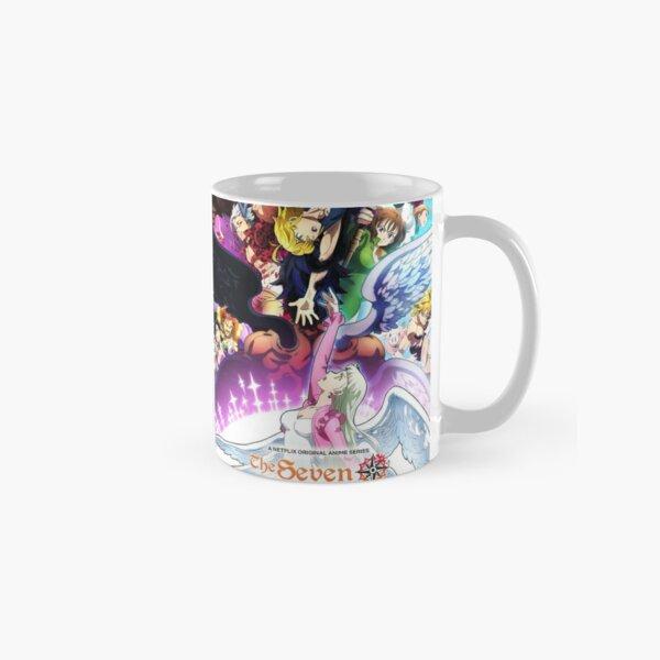 The Seven deadly sins dragon's judgement Classic Mug RB1606 product Offical The Seven Deadly Sins Merch