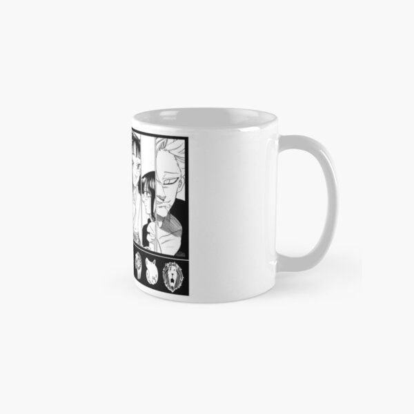 the deadly seven sins Classic Mug RB1606 product Offical The Seven Deadly Sins Merch