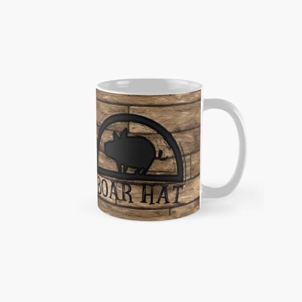 The Boar Hat Classic Mug RB1606 product Offical The Seven Deadly Sins Merch