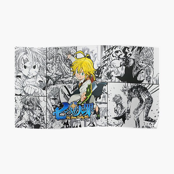 The Seven Deadly Sins - Poster Poster RB1606 product Offical The Seven Deadly Sins Merch