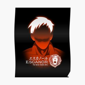 The seven deadly sins escanor Poster RB1606 product Offical The Seven Deadly Sins Merch