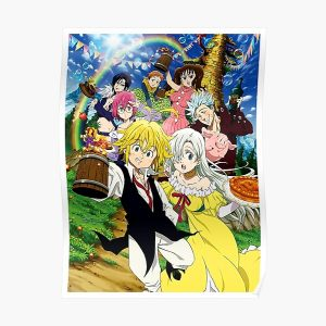 The Seven Deadly Sins Character Poster RB1606 product Offical The Seven Deadly Sins Merch