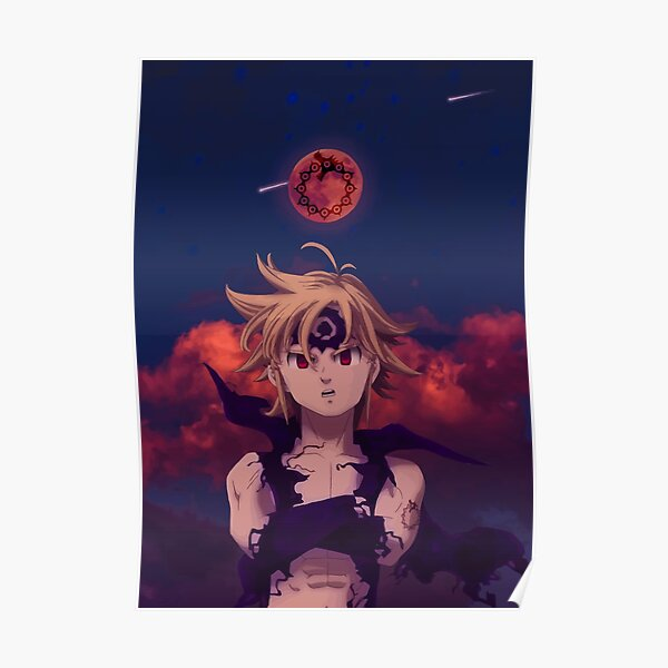 Meliodas - Seven Deadly Sins Poster RB1606 product Offical The Seven Deadly Sins Merch
