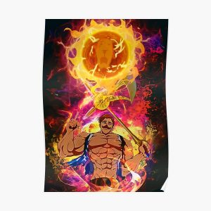 Neon Cruel Sun Poster RB1606 product Offical The Seven Deadly Sins Merch