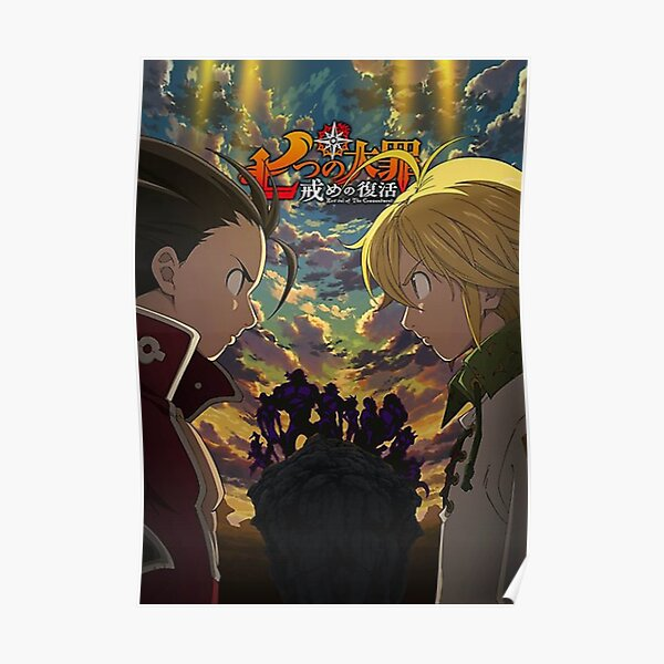 The Seven Deadly Sins Revival of The Commandments  Poster RB1606 product Offical The Seven Deadly Sins Merch