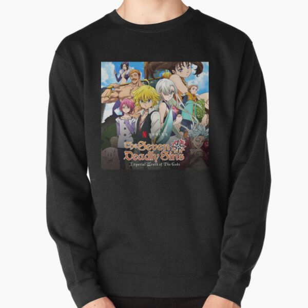 the seven deadly sins imperal wrath the gods Pullover Sweatshirt RB1606 product Offical The Seven Deadly Sins Merch