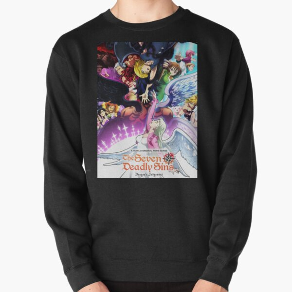 The Seven deadly sins dragon's judgement Pullover Sweatshirt RB1606 product Offical The Seven Deadly Sins Merch