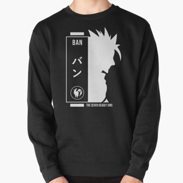 Ban seven deadly sins Pullover Sweatshirt RB1606 product Offical The Seven Deadly Sins Merch