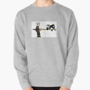Seven Deadly Sins - Ban and King Pullover Sweatshirt RB1606 product Offical The Seven Deadly Sins Merch