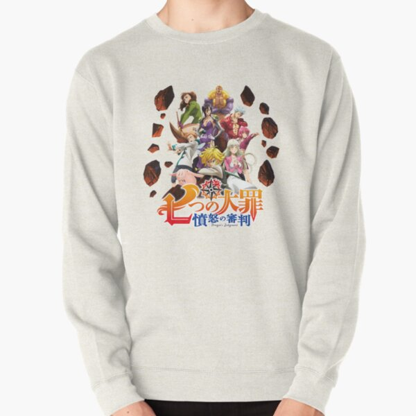 The Seven Deadly Sins: Dragon's Judgement logo Pullover Sweatshirt RB1606 product Offical The Seven Deadly Sins Merch