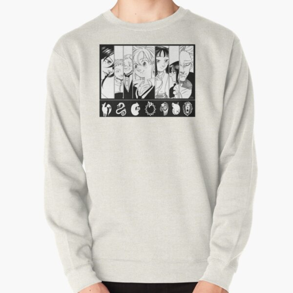 the deadly seven sins Pullover Sweatshirt RB1606 product Offical The Seven Deadly Sins Merch