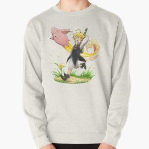 Meliodas, Nanatsu no taizai Pullover Sweatshirt RB1606 product Offical The Seven Deadly Sins Merch