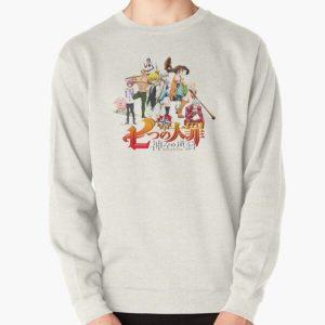 The Seven Deadly Sins logo Pullover Sweatshirt RB1606 product Offical The Seven Deadly Sins Merch