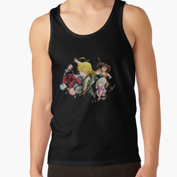 The Seven Deadly Sins Tank Top RB1606 product Offical The Seven Deadly Sins Merch