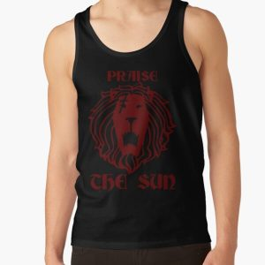 Praise The Sun (The Lion's Sin of Pride - Escanor) Tank Top RB1606 product Offical The Seven Deadly Sins Merch