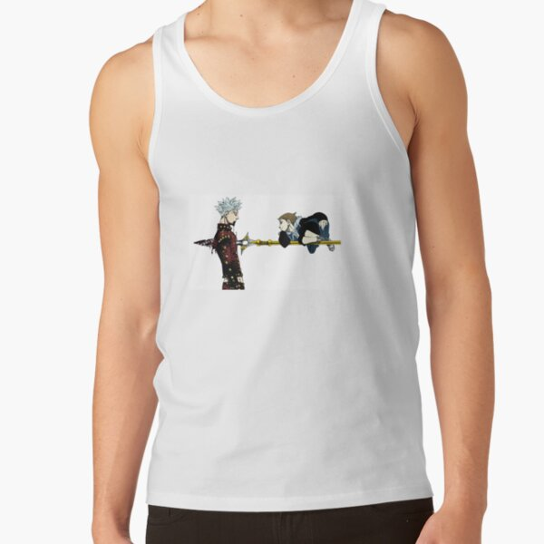 Seven Deadly Sins - Ban and King Tank Top RB1606 product Offical The Seven Deadly Sins Merch