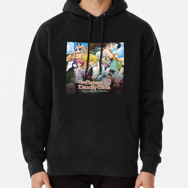 the seven deadly sins imperal wrath the gods Pullover Hoodie RB1606 product Offical The Seven Deadly Sins Merch