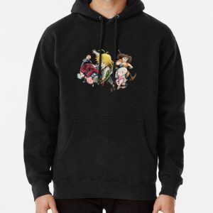 The Seven Deadly Sins Pullover Hoodie RB1606 product Offical The Seven Deadly Sins Merch