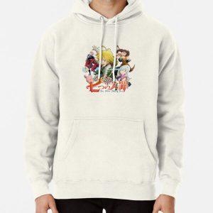 The Seven Deadly Sins anime logo Pullover Hoodie RB1606 product Offical The Seven Deadly Sins Merch
