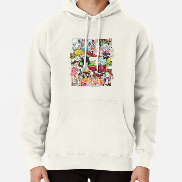 The Seven Deadly Sins logo Pullover Hoodie RB1606 product Offical The Seven Deadly Sins Merch