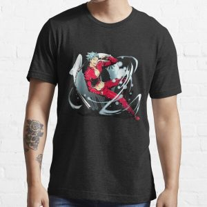 Seven Deadly Sins Fox Sin of Greed - Ban Essential T-Shirt RB1606 product Offical The Seven Deadly Sins Merch