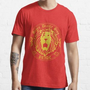 Lion's Pride Back Essential T-Shirt RB1606 product Offical The Seven Deadly Sins Merch