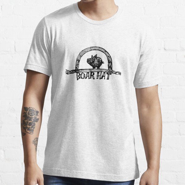The Boarhat Bar logo Essential T-Shirt RB1606 product Offical The Seven Deadly Sins Merch