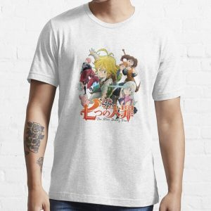 The Seven Deadly Sins anime logo Essential T-Shirt RB1606 product Offical The Seven Deadly Sins Merch