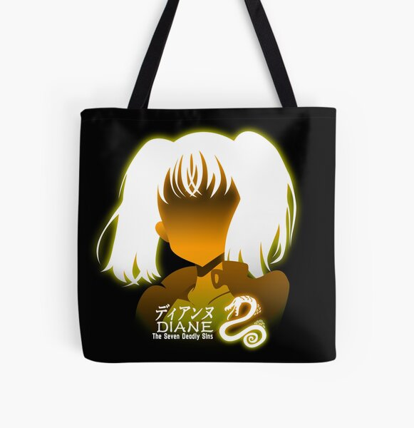 The seven deadly sins Diane All Over Print Tote Bag RB1606 product Offical The Seven Deadly Sins Merch