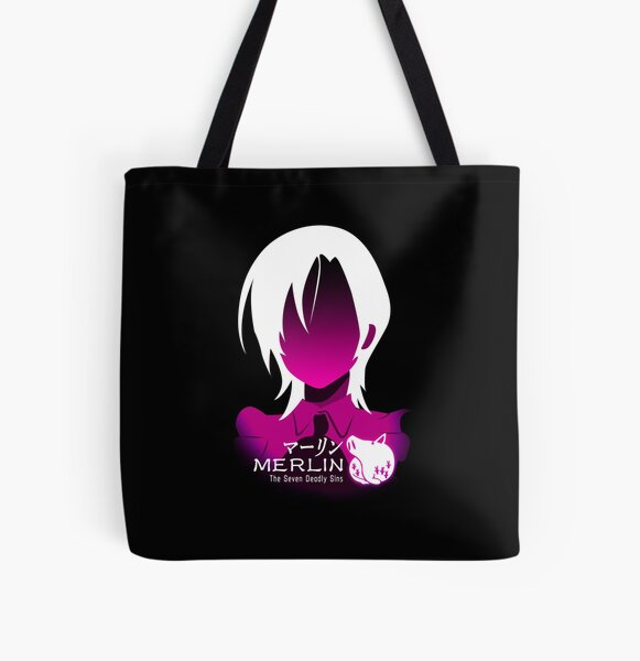 The seven deadly sins merlin All Over Print Tote Bag RB1606 product Offical The Seven Deadly Sins Merch