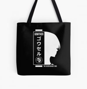Gowther seven deadly sins All Over Print Tote Bag RB1606 product Offical The Seven Deadly Sins Merch