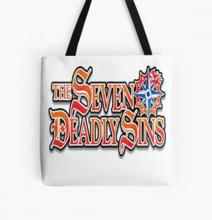 The Seven Deadly Sins All Over Print Tote Bag RB1606 product Offical The Seven Deadly Sins Merch