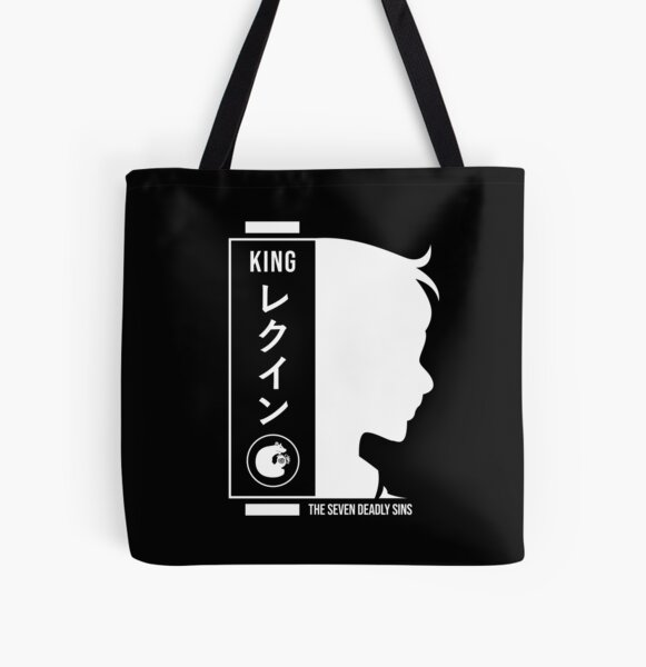 King seven deadly sins All Over Print Tote Bag RB1606 product Offical The Seven Deadly Sins Merch