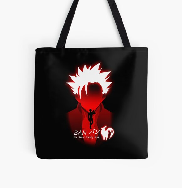 The seven deadly sins ban All Over Print Tote Bag RB1606 product Offical The Seven Deadly Sins Merch
