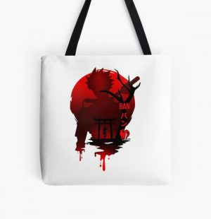 The seven deadly sins ( ban)  All Over Print Tote Bag RB1606 product Offical The Seven Deadly Sins Merch