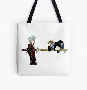 Seven Deadly Sins - Ban and King All Over Print Tote Bag RB1606 product Offical The Seven Deadly Sins Merch