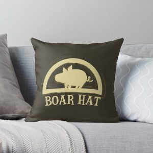 The Seven Deadly Sins (Boar Hat Sign) Throw Pillow RB1606 product Offical The Seven Deadly Sins Merch