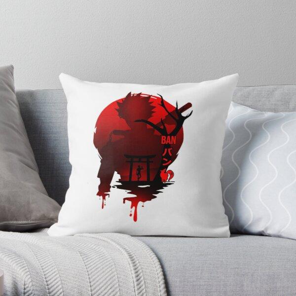 The seven deadly sins ( ban)  Throw Pillow RB1606 product Offical The Seven Deadly Sins Merch