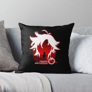 The seven deadly sins meliodas Throw Pillow RB1606 product Offical The Seven Deadly Sins Merch