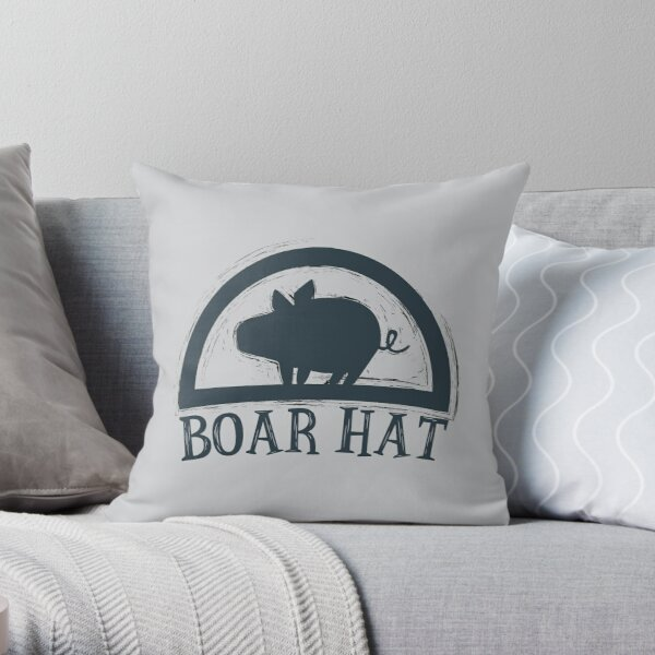 The Seven Deadly Sins (Boar Hat Bar) Throw Pillow RB1606 product Offical The Seven Deadly Sins Merch