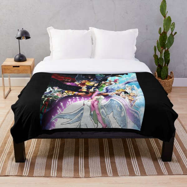 the seven deadly sins Throw Blanket RB1606 product Offical The Seven Deadly Sins Merch