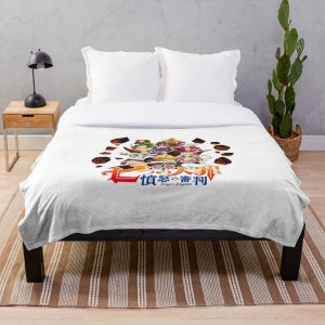 The Seven Deadly Sins: Dragon's Judgement logo Throw Blanket RB1606 product Offical The Seven Deadly Sins Merch