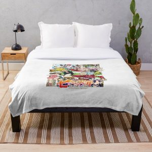 The Seven Deadly Sins logo Throw Blanket RB1606 product Offical The Seven Deadly Sins Merch