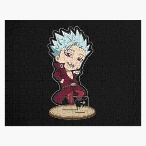 ban the seven deadly sins  Jigsaw Puzzle RB1606 product Offical The Seven Deadly Sins Merch
