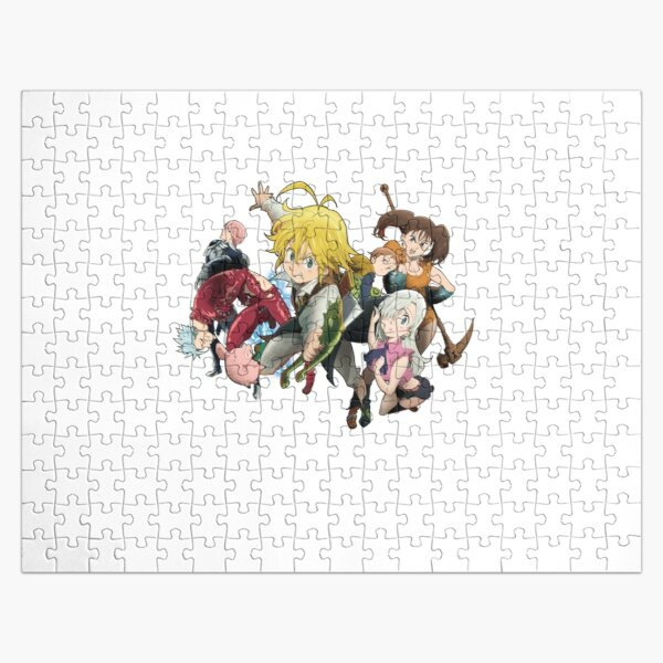 The Seven Deadly Sins Jigsaw Puzzle RB1606 product Offical The Seven Deadly Sins Merch