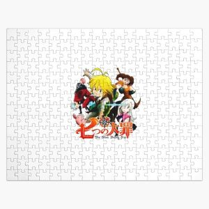 The Seven Deadly Sins anime logo Jigsaw Puzzle RB1606 product Offical The Seven Deadly Sins Merch